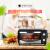 アメリカ威泰戈(WHITE TIGER)電気オーブン家庭用多機能ミニオーブン12 L上下石英管WT 13ブラックオーブン