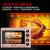 太陽の光の味の電気オーブン36 L家庭用多機能専門の熱風オーブ/独立制御温度/回転あぶりフォークSRQ-511バラの金36 Lローズゴールド