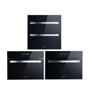 マイニオー(MALIO)家庭用埋込み式オーブン蒸し器消毒棚セットSS 65+V 10 B+D 05+D 05+V 10 B
