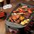 ビーバー電気オーブン家庭用韓国式家庭用焼肉鍋鉄板焼き大容量電気オーブンDKL-D 15 A 1(高配合版)