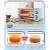 忠臣(loyola)家庭用多機能ミニミニ電子レンジ11 LスマートケーキパンホットオーブボックスLO-11 L薄い桜粉シングルマシン