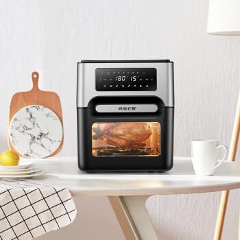尚品ハウス知能多機能10 L大容量空気爆発熱風オルブン乾果式電気オーブンを上下に操作して多層オーブンを温めます。