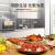 DEMASHI(DEMASHI)【蒸焼一体】組込み式卓上式スチームオーブン家庭用ハイエンド蒸しオーブ一体機大容量電気蒸し器卓上式スチームオーブンT 30 KN 18 G(30 L)
