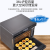 VTTI蒸しオーブ卓上電気オーブン家庭用スチームオーブンホットオーブ二段調理ZK-36 i 6黒