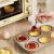 Bear電気オーブン家庭用多機能ミニオーブン11 L家庭用容量小型ヒートオンS型発熱パイプ二層焼き位置DKX-D 11 H 5
