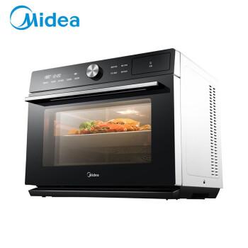 Midea電気オーブン家庭用全自動熱風オーブ蒸し焼き一体機卓上多機能30 L蒸し器美のインテリジェント蒸しオーブ