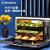 米国Westinghouseデスクトップ電気蒸し器蒸しオーブ一体機家庭用知能大容量多目的蒸気オーブンGT 40 A