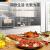 徳瑪仕(DEMASHI)蒸し器オーブン二合一家庭用多機能卓上蒸し焼き一体機熱風オーブ電気蒸気オーブン30 L/L低湿度純蒸し丨三次元熱風サイクル