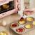 Bear電気オーブン多機能家庭用ミニミニ入門級熱風オーブ11 LケーキマシンDKX-D 11 B 1を作る。