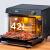 Vati/華帝ZK-42 i 1蒸しオーブ一体機家庭用デスクトップ熱風サイクル電気蒸し器オーブン全自動二合一42 L大容量ブラック